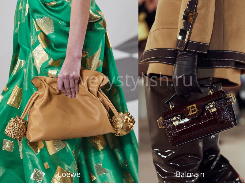 Модные сумки осень-зима 2020/21 фото №81