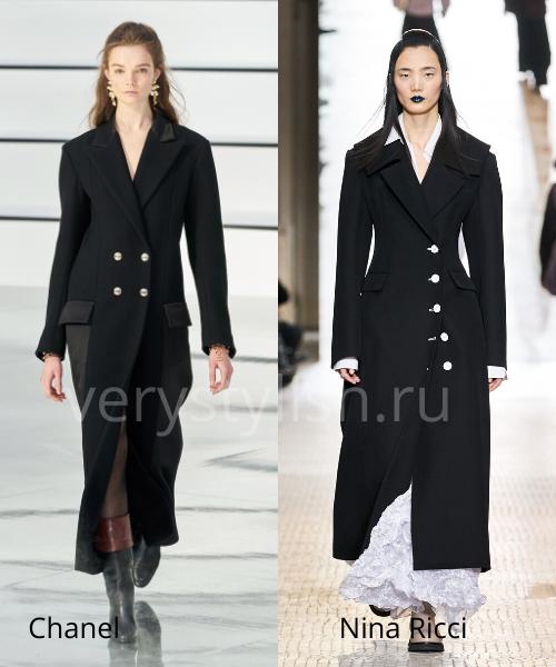 модные пальто осень-зима 2020/21 фото №43