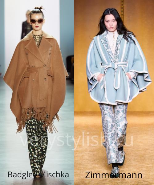 модные пальто осень-зима 2020/21 фото №60