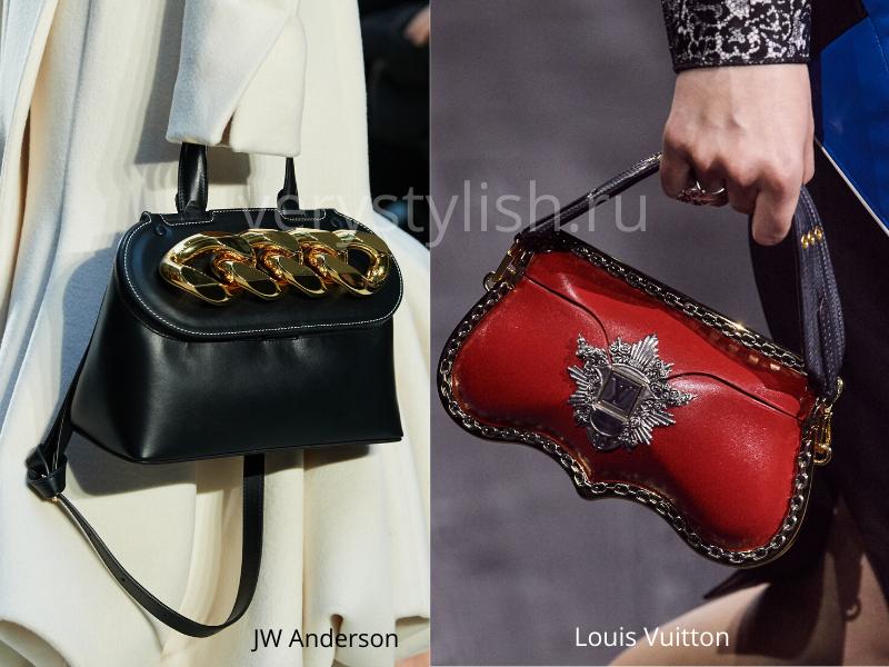 Модные сумки осень-зима 2020/21 фото №82