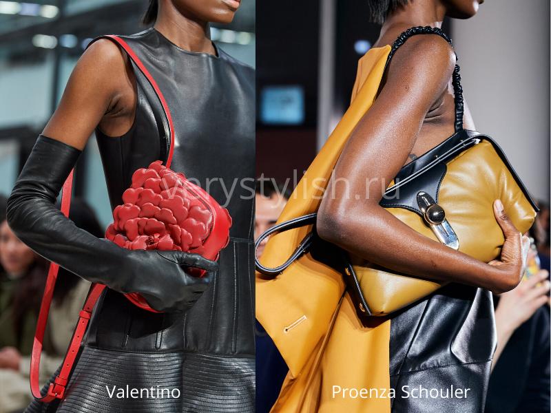 Модные сумки осень-зима 2020/21 фото №124