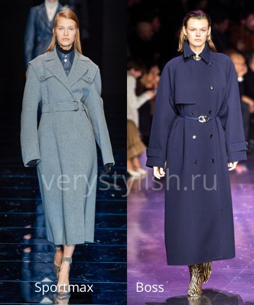 модные пальто осень-зима 2020/21 фото №44