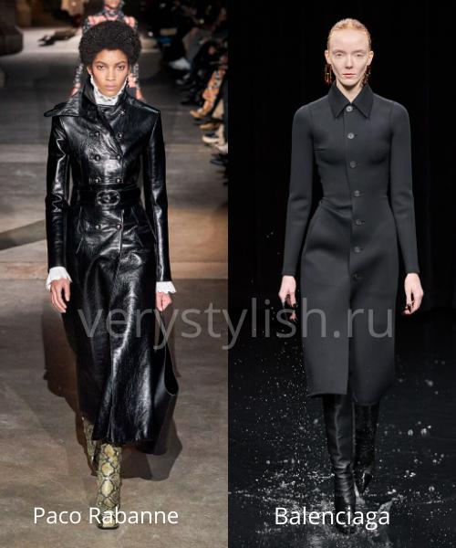 модные пальто осень-зима 2020/21 фото №45