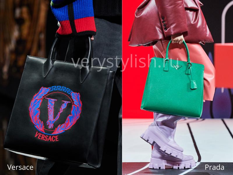 Модные сумки осень-зима 2020/21 фото №95