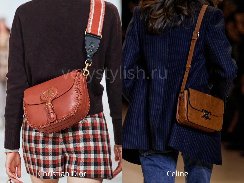 Модные сумки осень-зима 2020/21 фото №126
