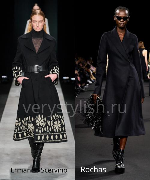 модные пальто осень-зима 2020/21 фото №46