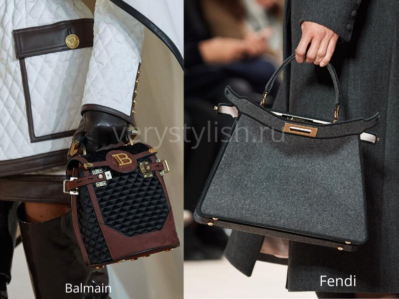 Модные сумки осень-зима 2020/21 фото №70