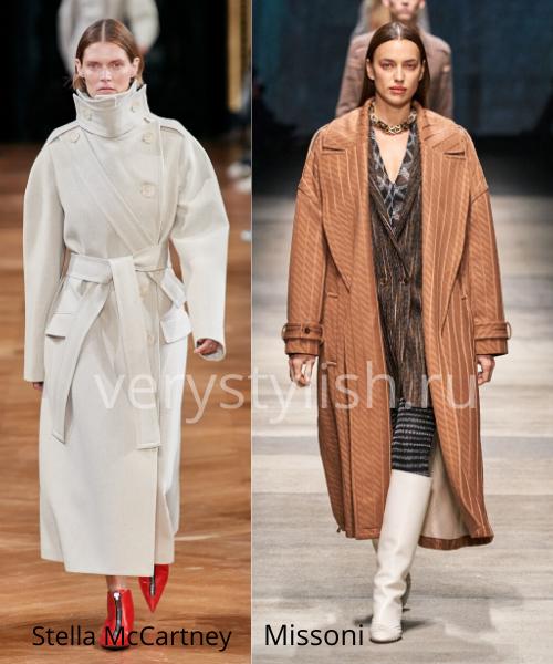модные пальто осень-зима 2020/21 фото №12