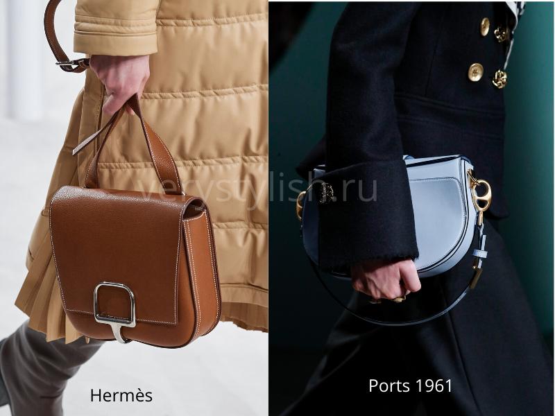 Модные сумки осень-зима 2020/21 фото №119