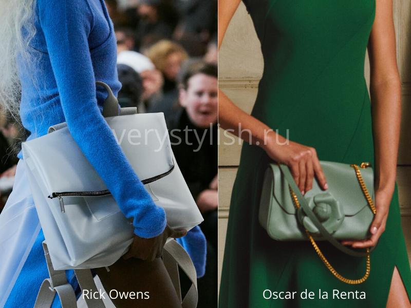 Модные сумки осень-зима 2020/21 фото №123