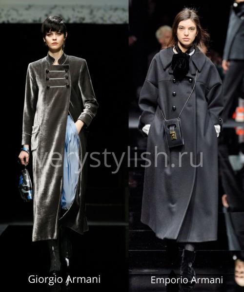 модные пальто осень-зима 2020/21 фото №35