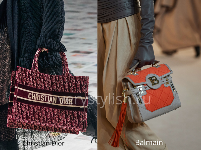 Модные сумки осень-зима 2020/21 фото №99