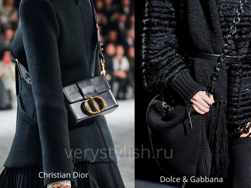 Модные сумки осень-зима 2020/21 фото №129