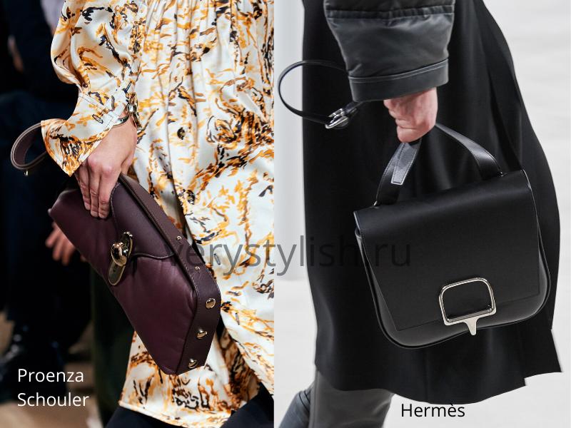 Модные сумки осень-зима 2020/21 фото №122