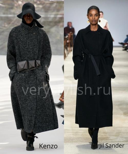 модные пальто осень-зима 2020/21 фото №15