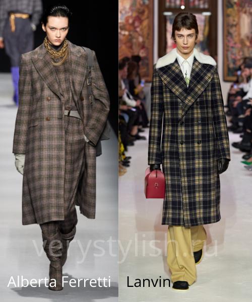 модные пальто осень-зима 2020/21 фото №89