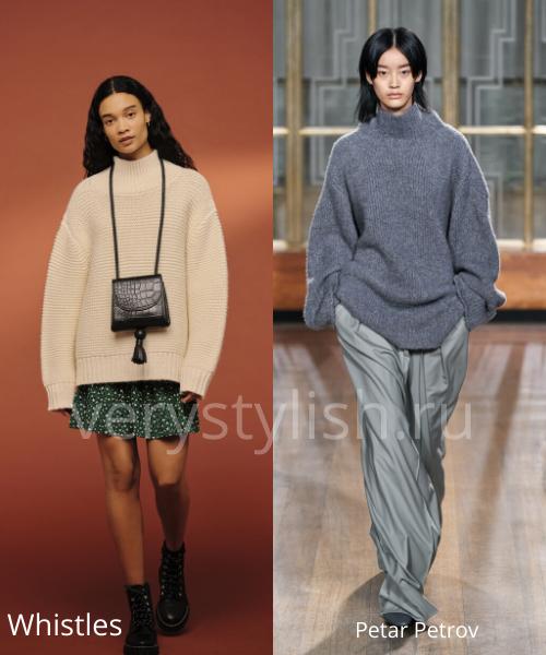 Модные свитеры осень-зима 2020/21 фото №18