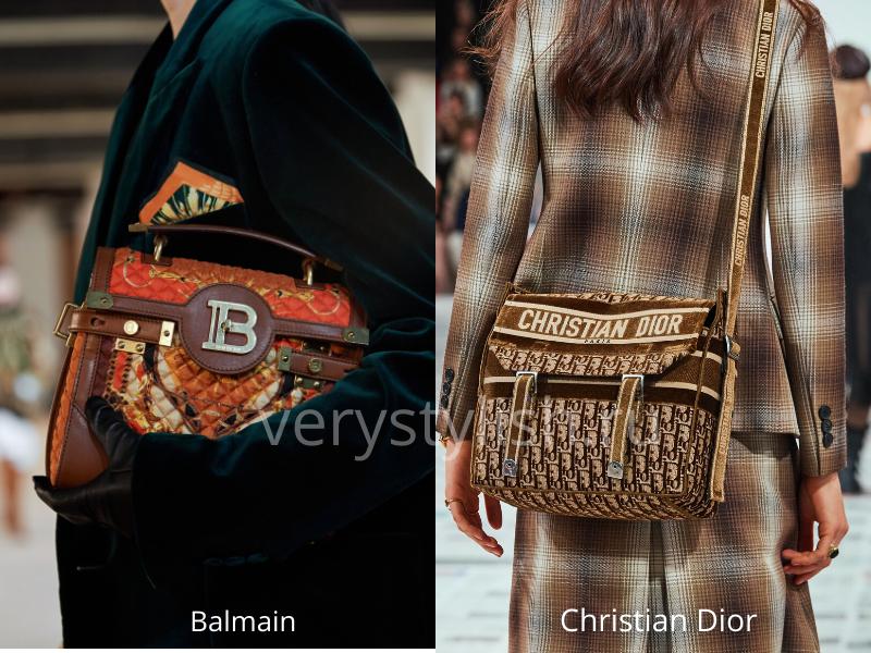 Модные сумки осень-зима 2020/21 фото №101