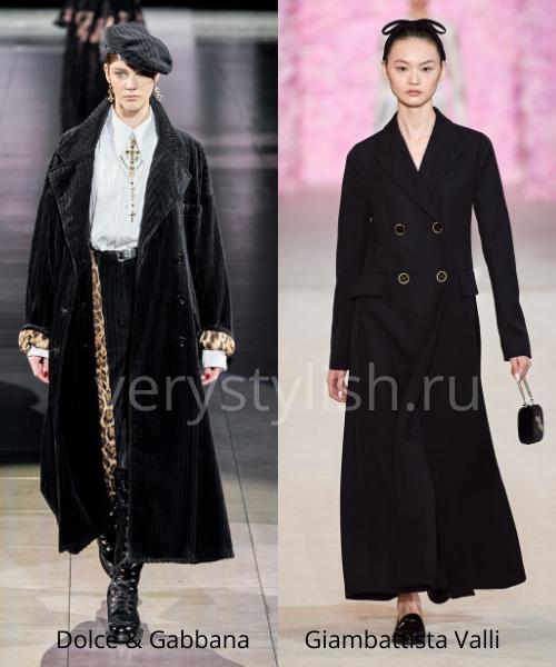 модные пальто осень-зима 2020/21 фото №16