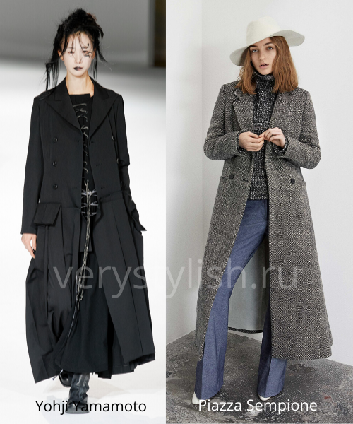 модные пальто осень-зима 2020/21 фото №17