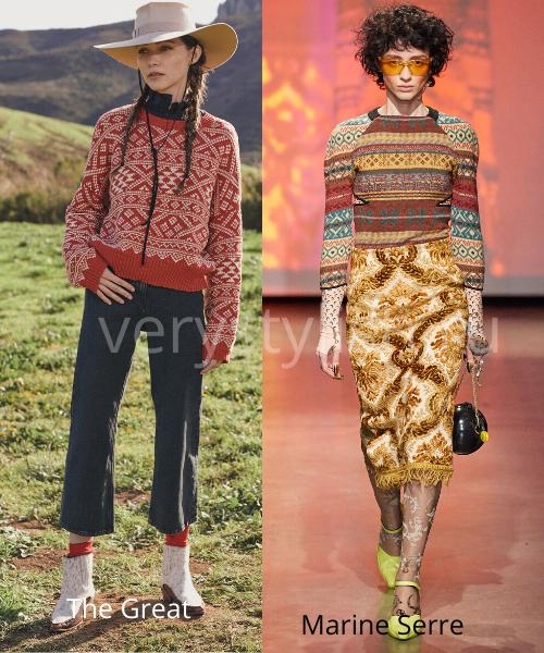 Модные свитеры осень-зима 2020/21 фото №21
