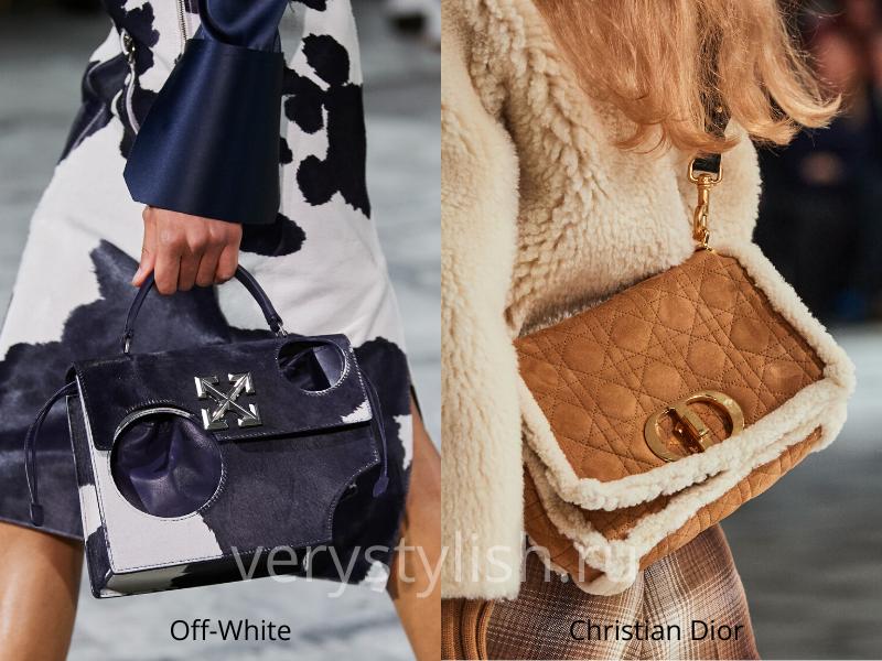 Модные сумки осень-зима 2020/21 фото №91