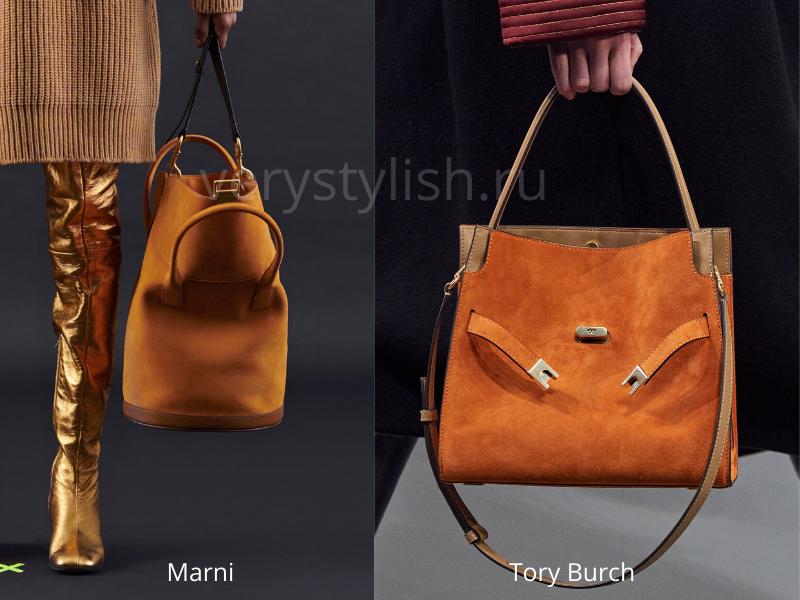 Модные сумки осень-зима 2020/21 фото №84