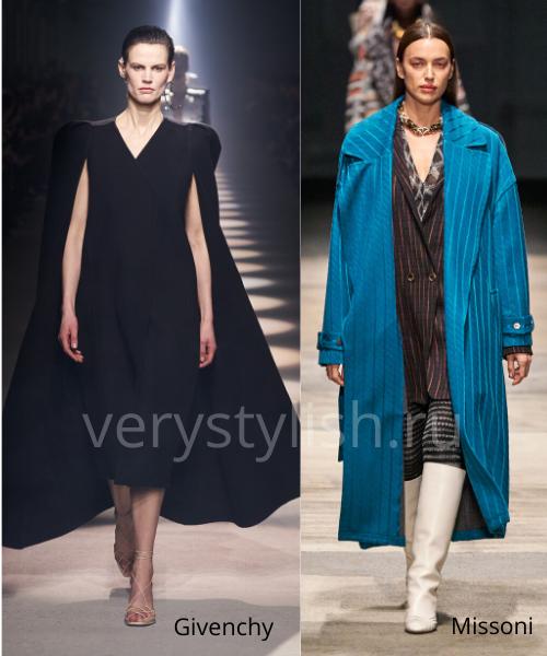 модные пальто осень-зима 2020/21 фото №18