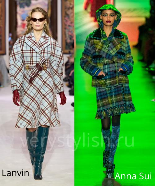 модные пальто осень-зима 2020/21 фото №90