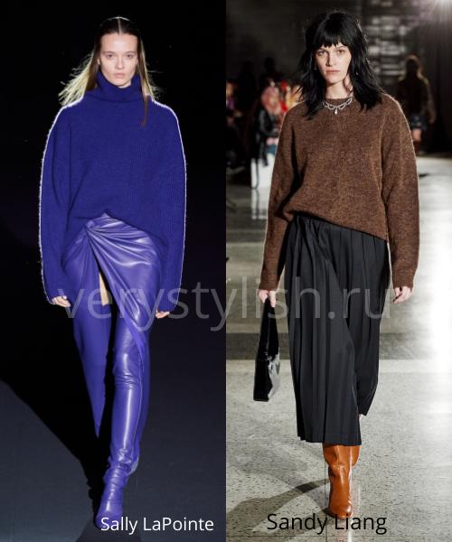 Модные свитеры осень-зима 2020/21 фото №22