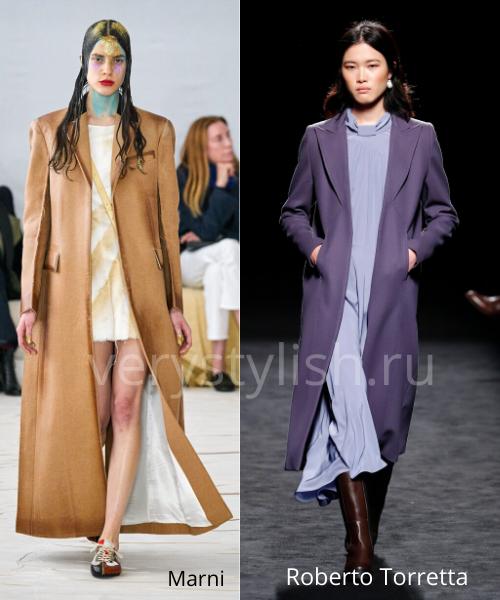 модные пальто осень-зима 2020/21 фото №28
