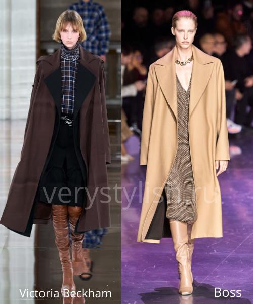 модные пальто осень-зима 2020/21 фото №29