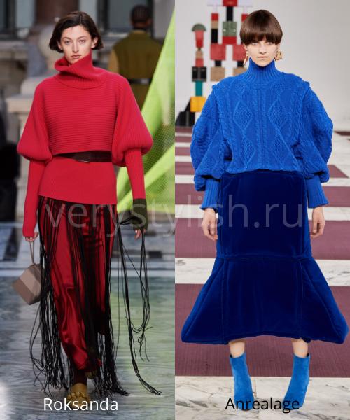 Модные свитеры осень-зима 2020/21 фото №24