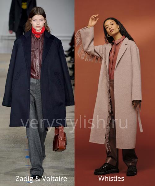 модные пальто осень-зима 2020/21 фото №30