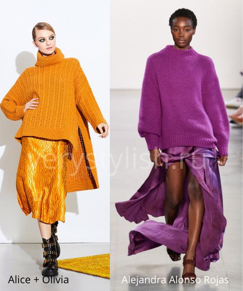 Модные свитеры осень-зима 2020/21 фото №25