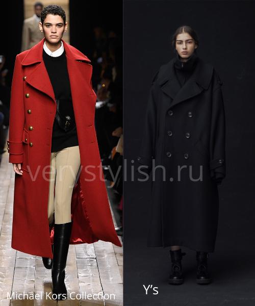 модные пальто осень-зима 2020/21 фото №36
