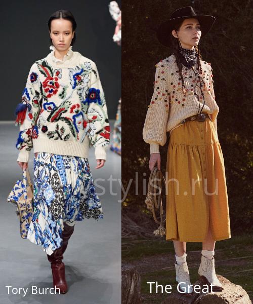 Модные свитеры осень-зима 2020/21 фото №26