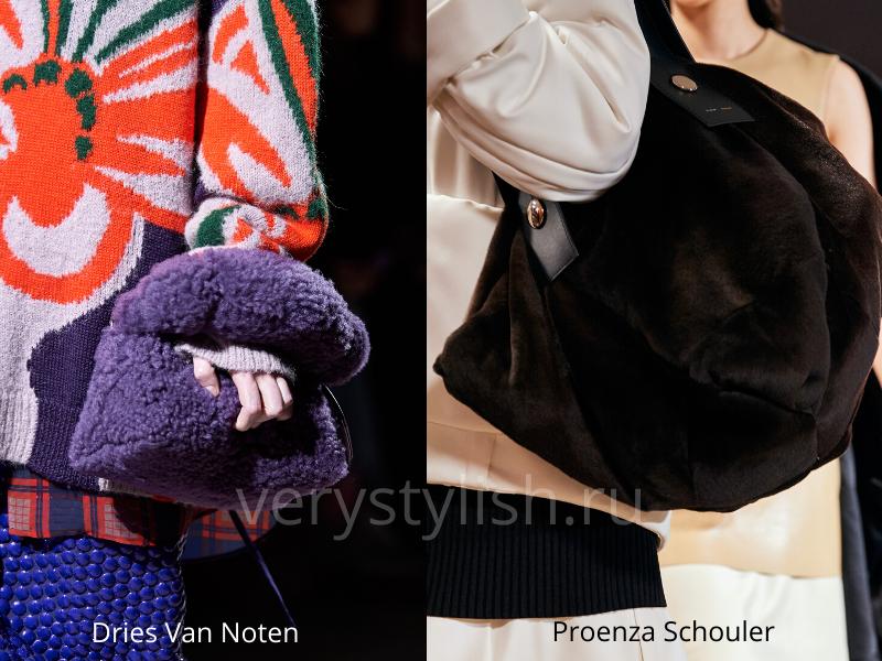 Модные сумки осень-зима 2020/21 фото №93