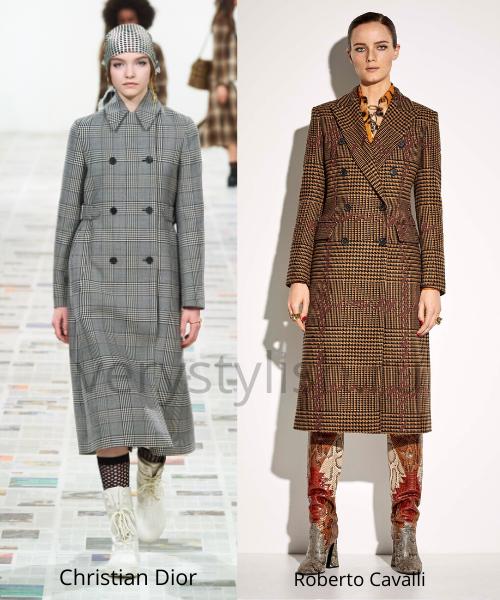 модные пальто осень-зима 2020/21 фото №82