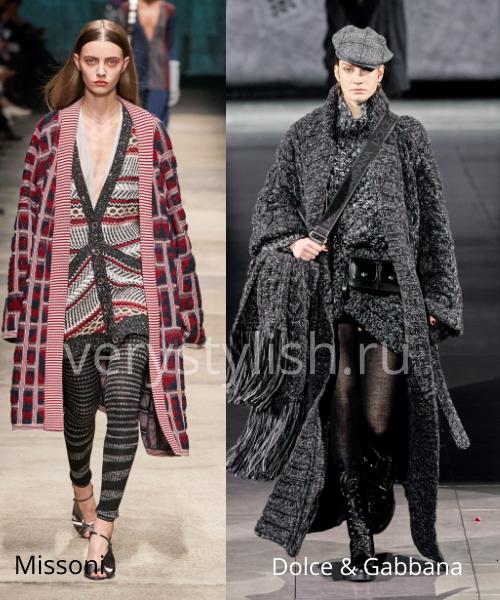 модные пальто осень-зима 2020/21 фото №113