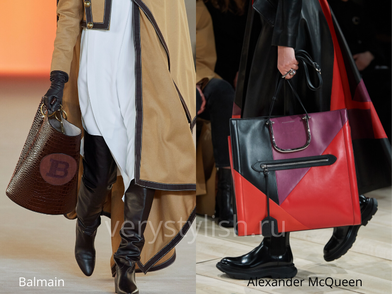 Модные сумки осень-зима 2020/21 фото №12