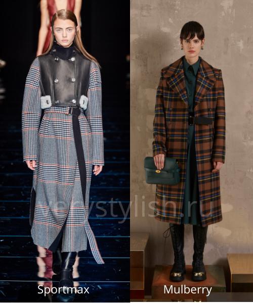 модные пальто осень-зима 2020/21 фото №83