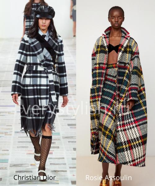 модные пальто осень-зима 2020/21 фото №85