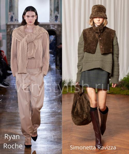 Модные свитеры осень-зима 2020/21 фото №30