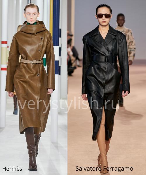 модные пальто осень-зима 2020/21 фото №109