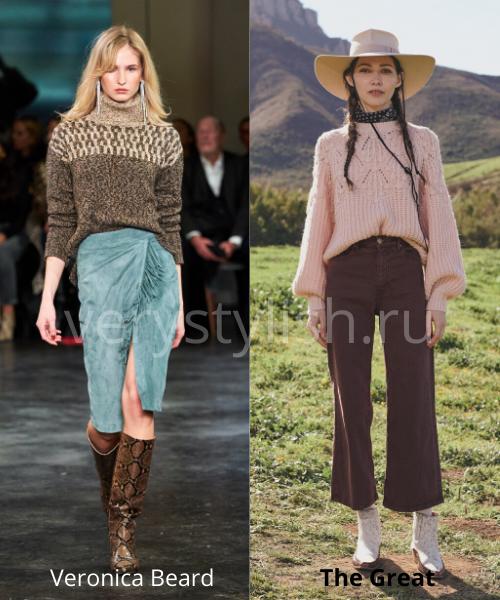 Модные свитеры осень-зима 2020/21 фото №31