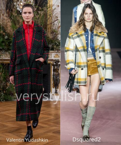 модные пальто осень-зима 2020/21 фото №88