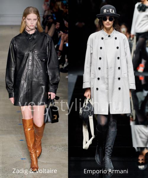 модные пальто осень-зима 2020/21 фото №111