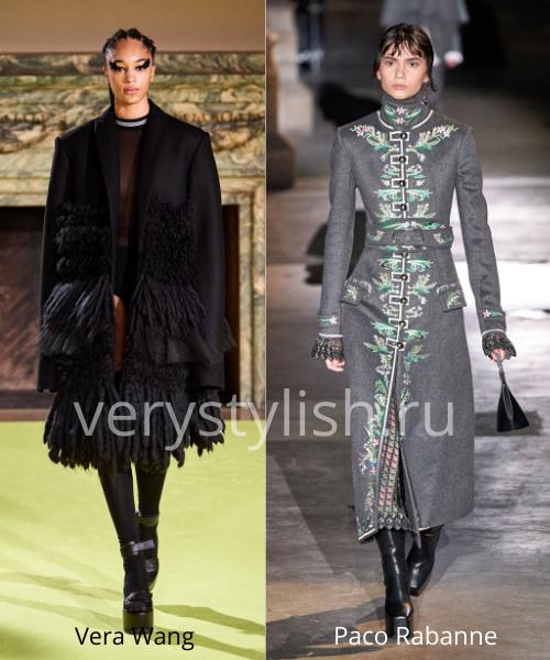 модные пальто осень-зима 2020/21 фото №96