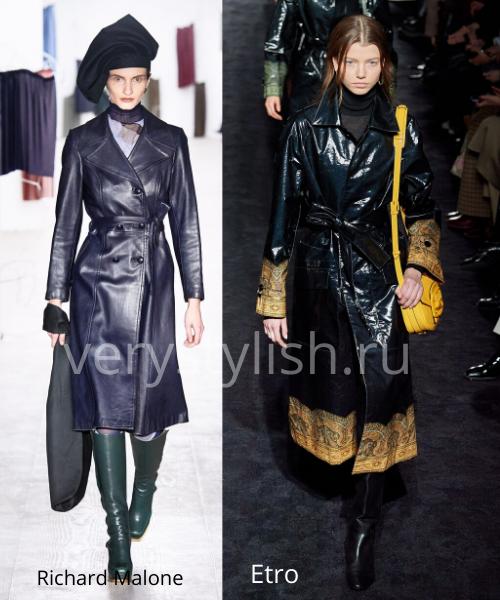модные пальто осень-зима 2020/21 фото №112